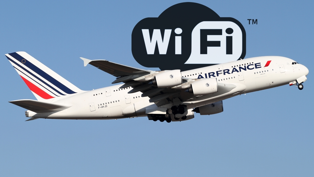 air france launches wi fi on board blue marine travel